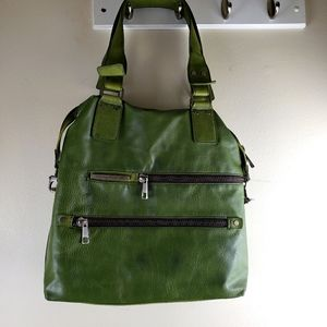 Matt and Nat Green Vegan Leather Bag